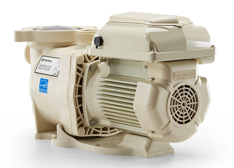 Pentair Superflo Vs Variable Speed Pool Pump 115 230v