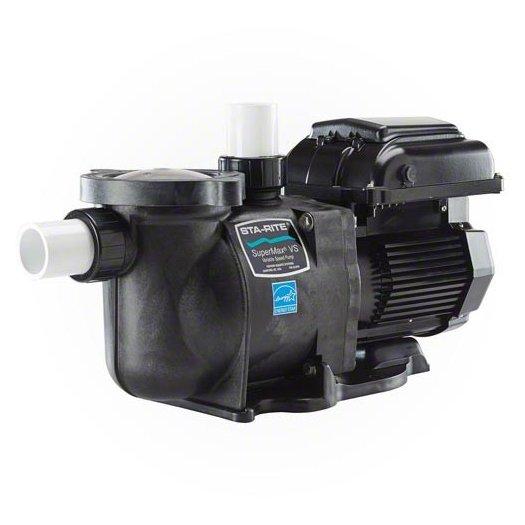 Sta Rite Supermax Vs Variable Speed Pump 110v 230v