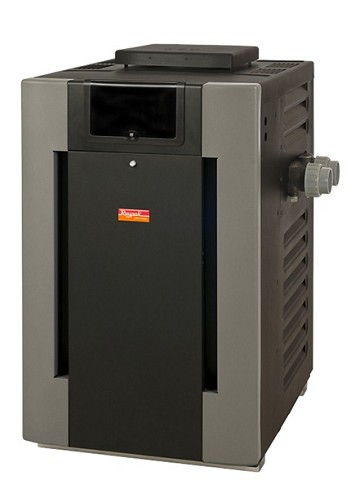 Raypak Ruud 406A Digital Natural Gas Pool Heater - 399k BTU - 009219, 009997