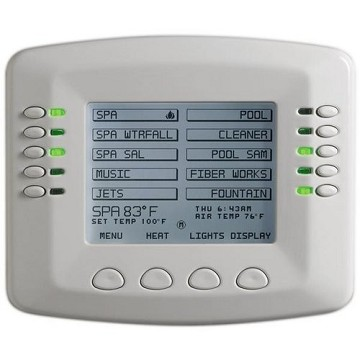 Pentair IntelliTouch Indoor Control Panel, White